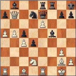 Partida de ajedrez Fuentes - Martínez Mocete, posición después de 31…Ab8