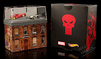 San Diego Comic-Con 2016 Mattel Exclusive HOT WHEELS MARVEL DAREDEVIL VS. PUNISHER