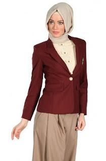 Model Baju Kemeja Kerja Wanita Berhijab