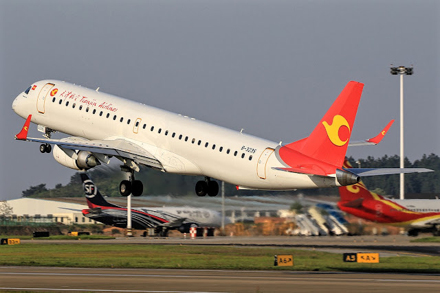 a320neo tianjin airlines