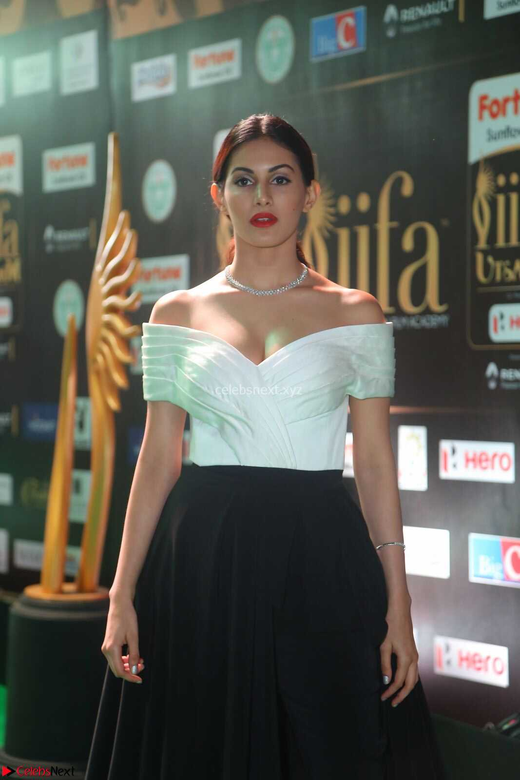 Amyra Dastur in Off Shoulder Deep neck  at IIFA Utsavam Awards 2017  Day 2 at CelebsNext.COM