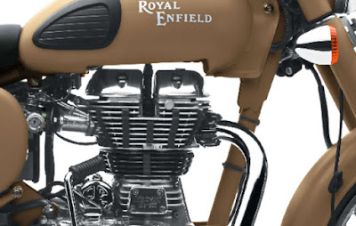 Royal Enfield Classic 500 Desert Storm engine