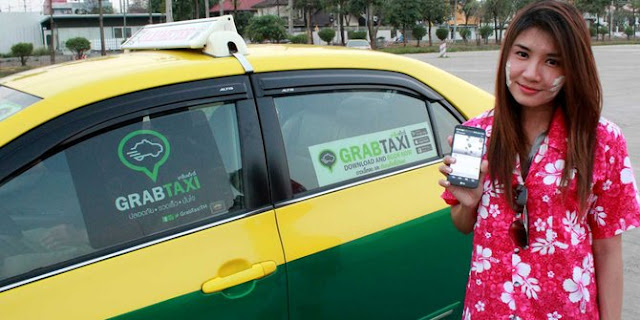 Percakapan Driver Taxi Online Dengan Pelanggan