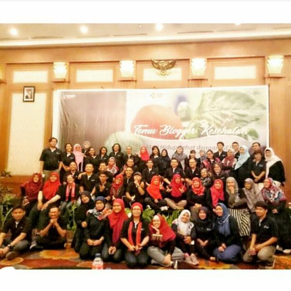 Gathering Blogger Kesehatan di Semarang , Dukung GERMAS part 1