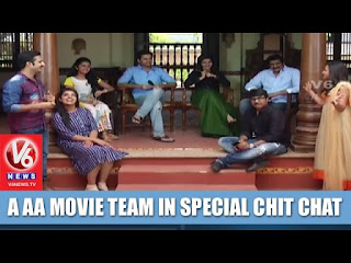 A Aa Movie Team In Special Chit Chat