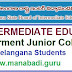 Free Intermediate Education in All Telangana Govt Junior Colleges for Telangana Students