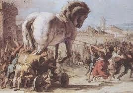 أشهر حصان في التاريخ: حصان الطروادة