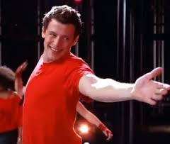 Cory Monteith of Glee_singing