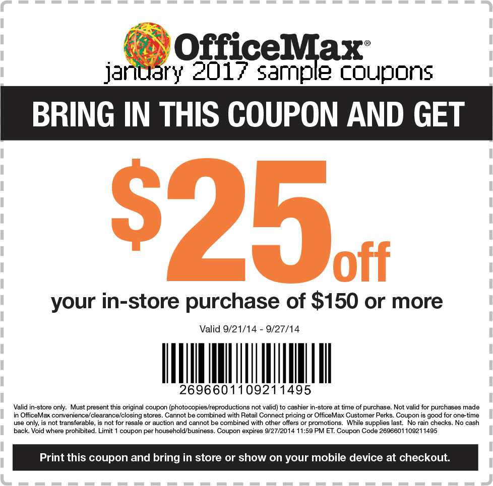 printable coupons 2017 office max coupons. Black Bedroom Furniture Sets. Home Design Ideas