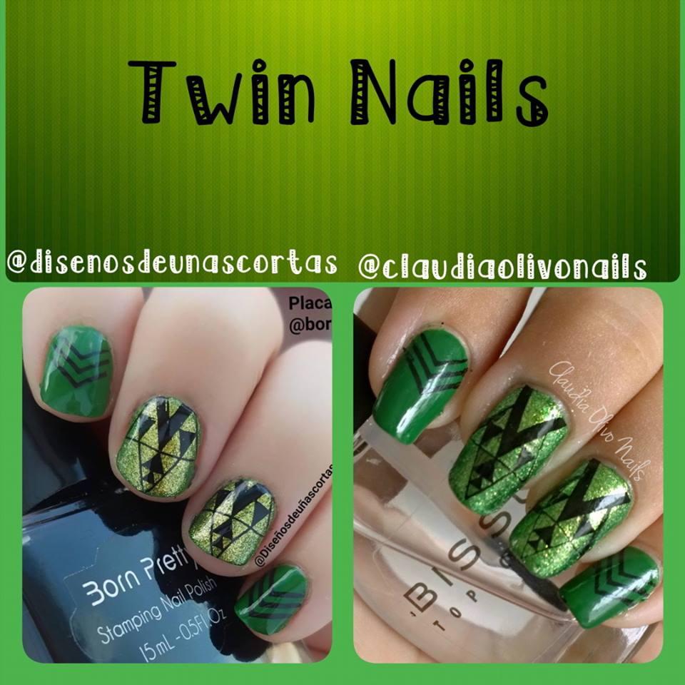 Claudia Olivo Nails: Manicura No. 92 Twin Nails con Diseños de Uñas ...
