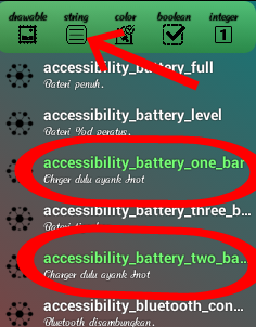 Cara mengganti notifikasi battery keren