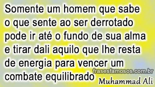 Frase de Muhammad Ali (Cassius Marcellus Clay)