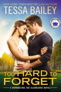 romance novel covers, contemporary romance, Royal Pick, Too Hard to Forget by Tessa Bailey