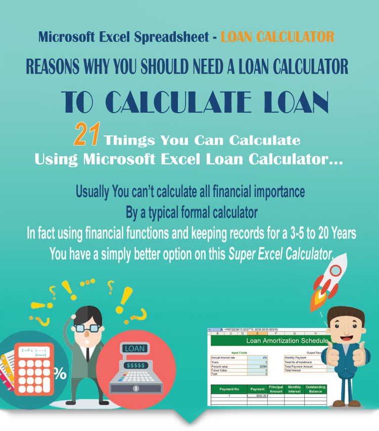 Authoritative Guide To Excel Loan Calculator  Mortgage Loan