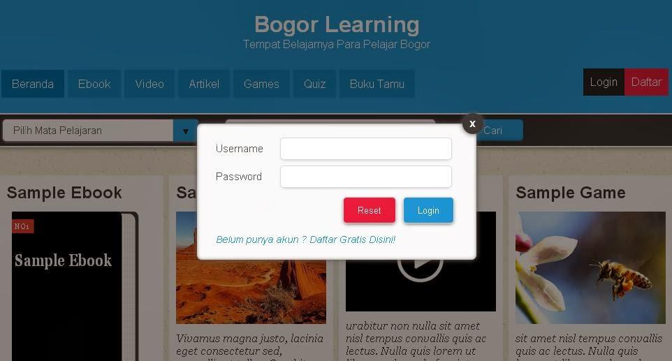 Mengenal Elemen Komponen Yang Ada Pada Blog Website Devaradise