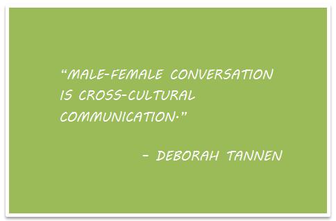 Genderlect Styles of Deborah Tannen: Genderlect Styles