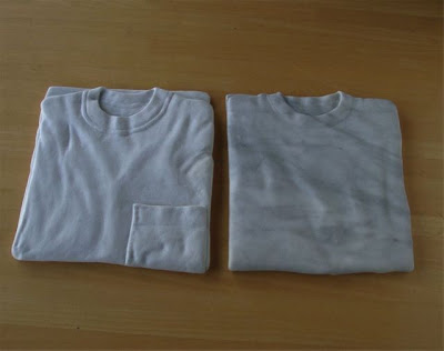 Camisetas de piedra.