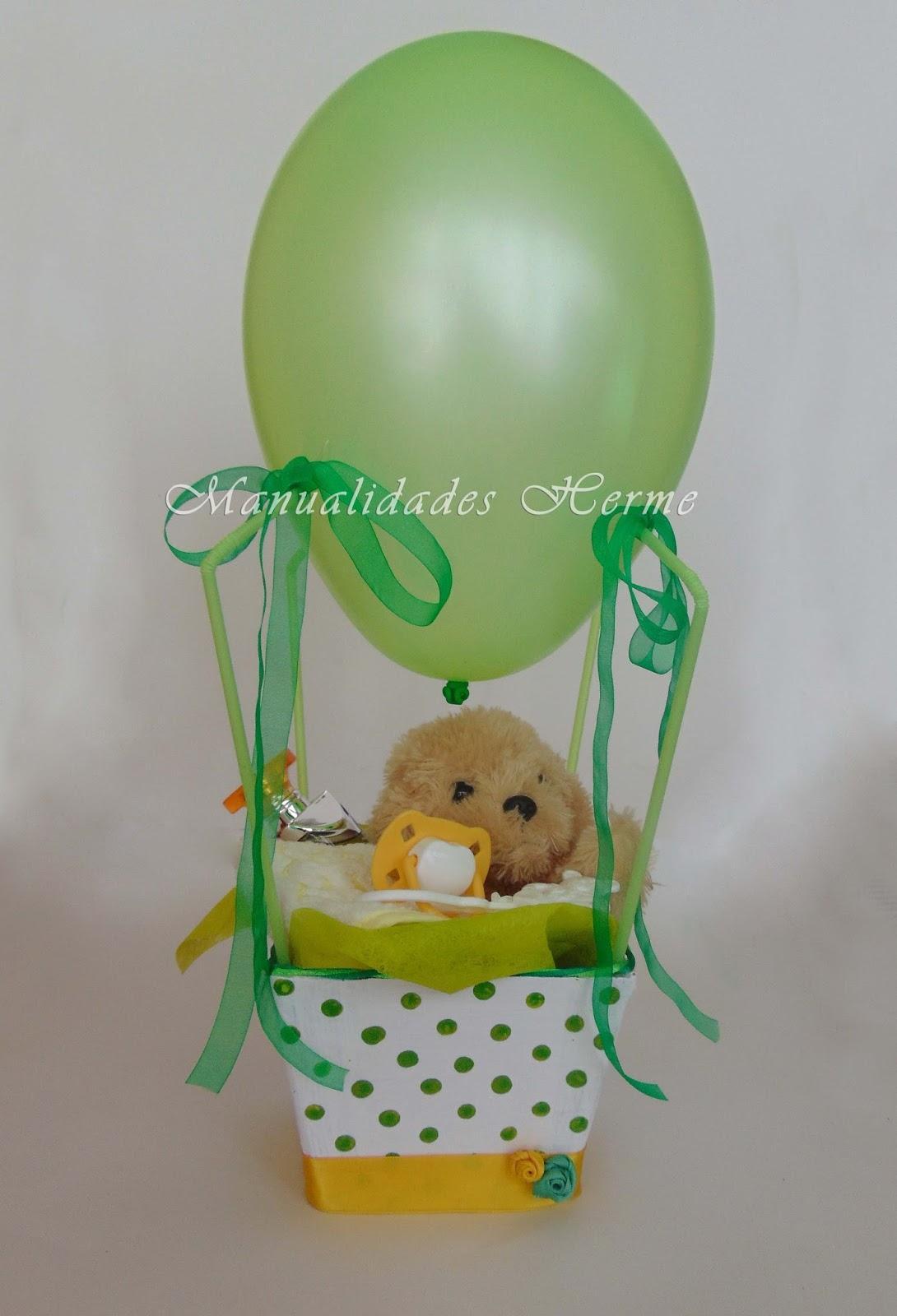 Diy globo para regalo baby shower aprender manualidades for Facilisimo com manualidades