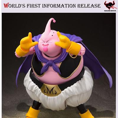 Tamashii Nations ha mostrado hoy las primeras imágenes y detalles del próximo S.H.Figuarts Majin Boo de Dragon Ball Z.