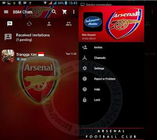 BBM apk Sepak Bola Versi Terbaru 2.13.0.26