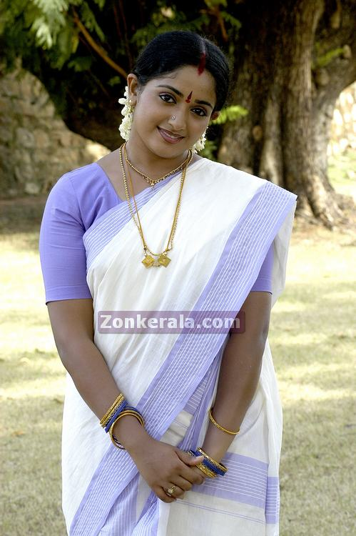Kavya Madhavan Hot Photos Navel In Saree