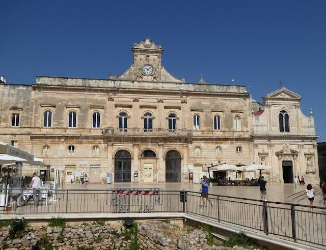 il Municipio di ostuni