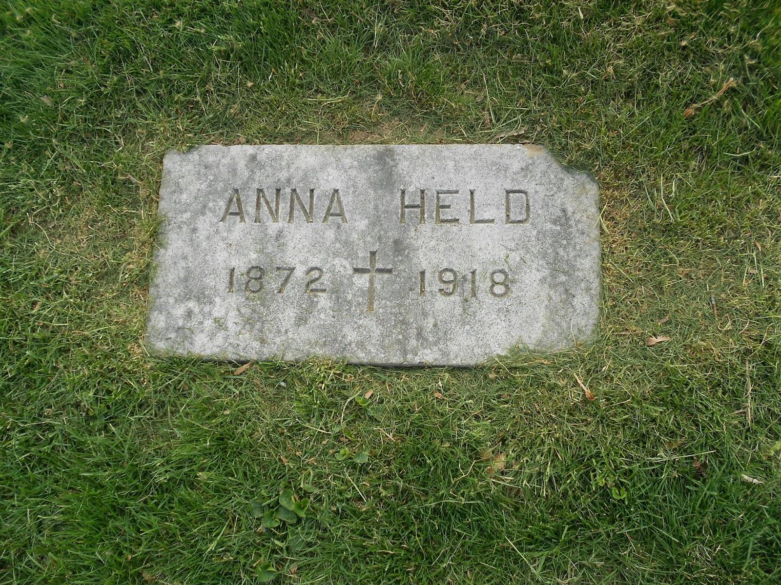 Gardens of Stone: Flo Ziegfeld's Girl: Anna Held