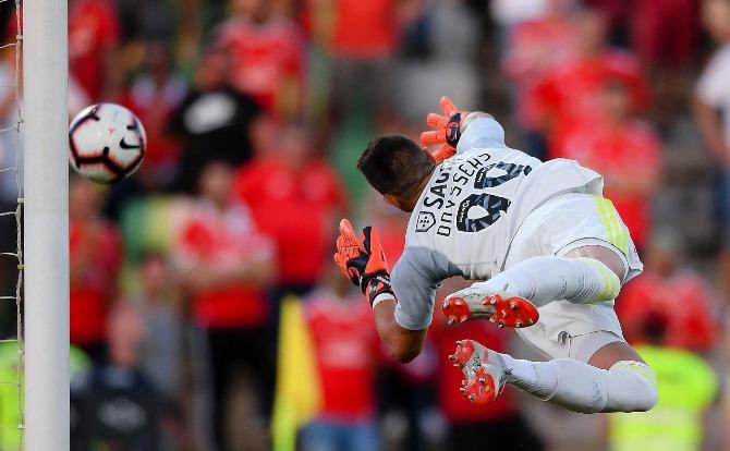 Benfica blogs Odysseas fez grandes defesas