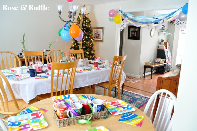Our 4 Sons Plus 1Super Cute Girly Girl Winter Birthday Party