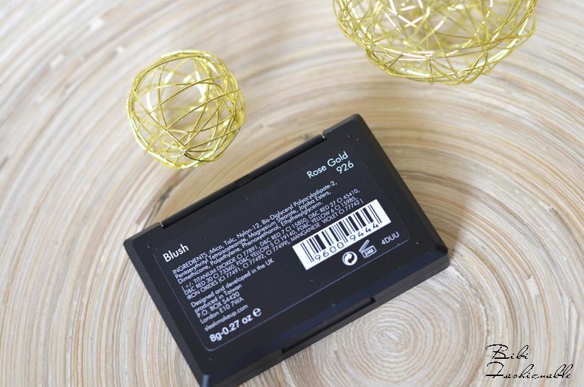 Sleek Blush Rose Gold Name und Inhaltsstoffe