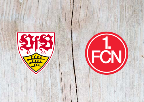 VfB Stuttgart vs Nurnberg - Highlights 6 April 2019