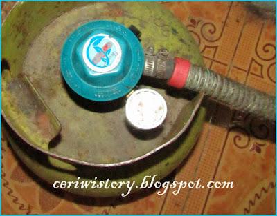 Berdasarkan pengalaman mengganti tabung gas LPG
