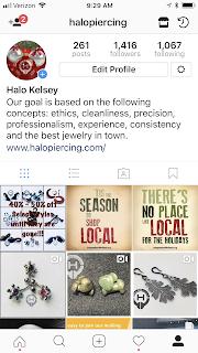 Halo Instagram
