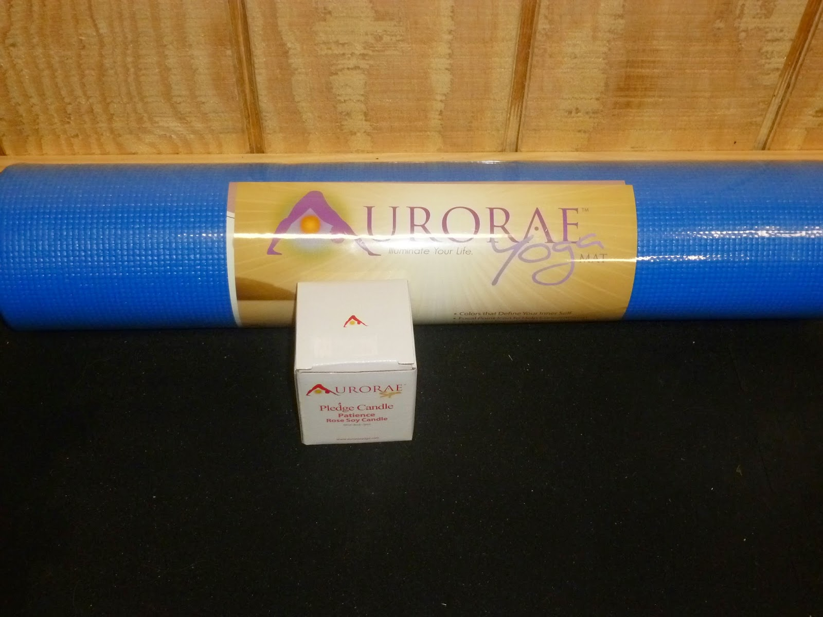 At The Fence Workit Wednesday Aurorae Yoga Mat Candle