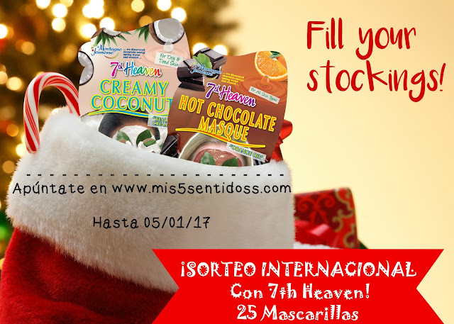 ¡Sorteo Internacional con 7th Heaven!