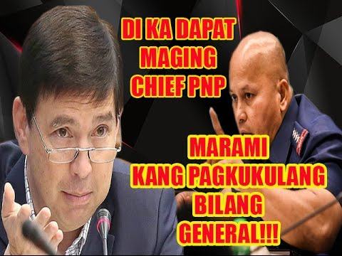 MUST WATCH: Sen Recto Reaction on PNP Chief Dela Rosa's Way of Solving the Drug problem