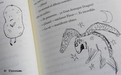 Ejemplo de ilustraciones de Confesiones de un amigo imaginario