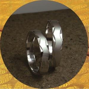 cincin emasputih paladium P5793