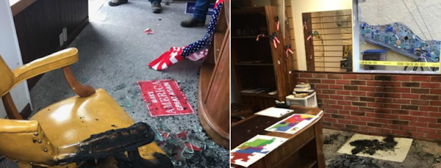 Wyoming GOP office set on fire two days after opening – police say it was intentional
