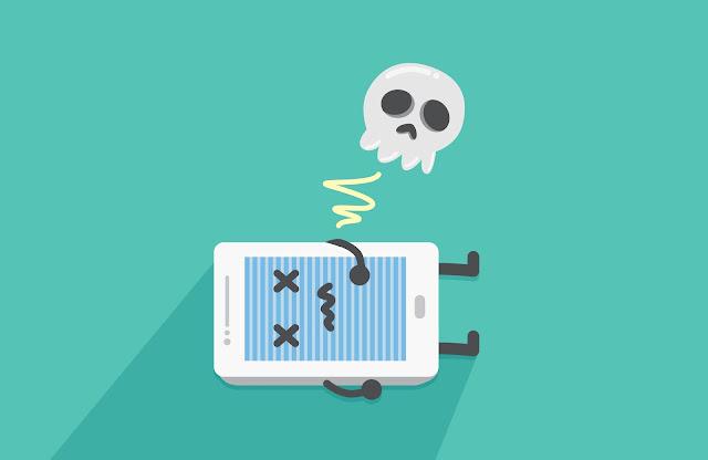 5 علامات تدل بأن بطارية الهاتف مصابه