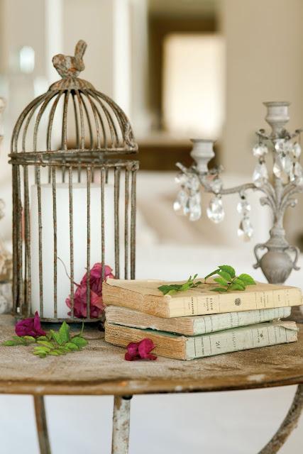 gaiola na decoração