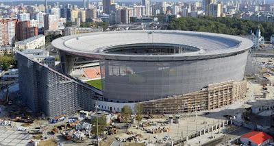 Ekaterinburg Arena Rusia