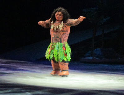 Maui on the ice