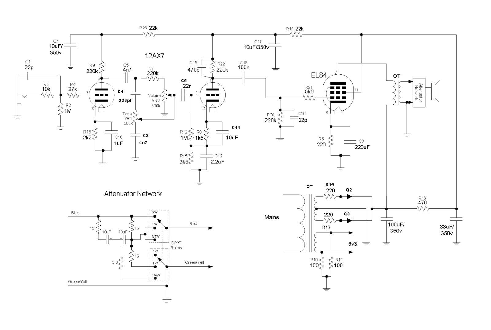 Timbre Tono Volumen: 2016 on vox tube amp mods, vox tube amp schematics, fender bassman schematic, fender champion 600 schematic, fender deluxe reverb schematic, vox ac15 layout, audio amplifier schematic, ac30 schematic, vox v9158 15r, vox vt50 amp schematics, vox vt 50 amps, vox amp diagram, blues jr schematic, vox tonelab le power cable diagram, small ice machine schematic, pcb schematic,