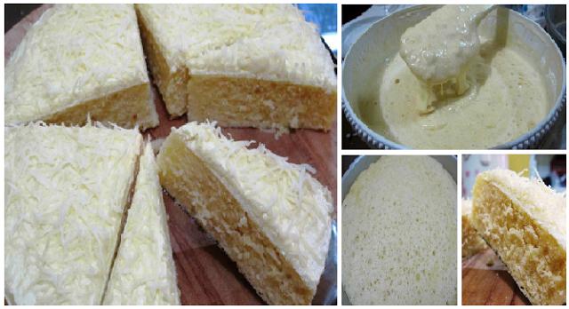 Resep Cake Kukus Praktis: Resep Membuat Cake Kukus Keju Lemon Yang Lembut No Mixer