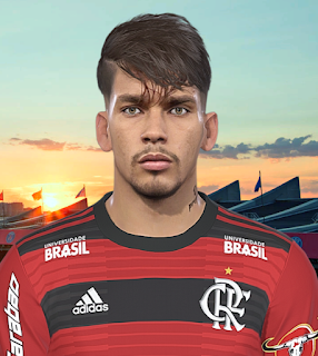 PES 2018 Faces Lucas Paquetá by Prince Hamiz
