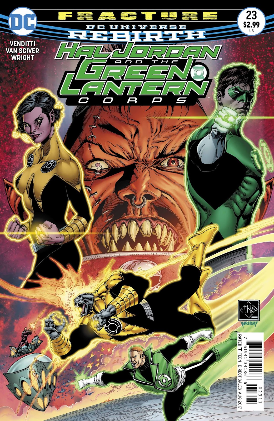 Weird Science Dc Comics Preview Hal Jordan And The Green
