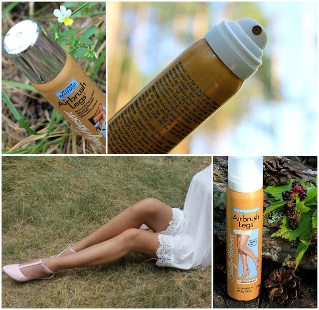 Отзыв: «Невидимые чулки». Новая версия. Sally Hansen Airbrush Legs Medium Glow.