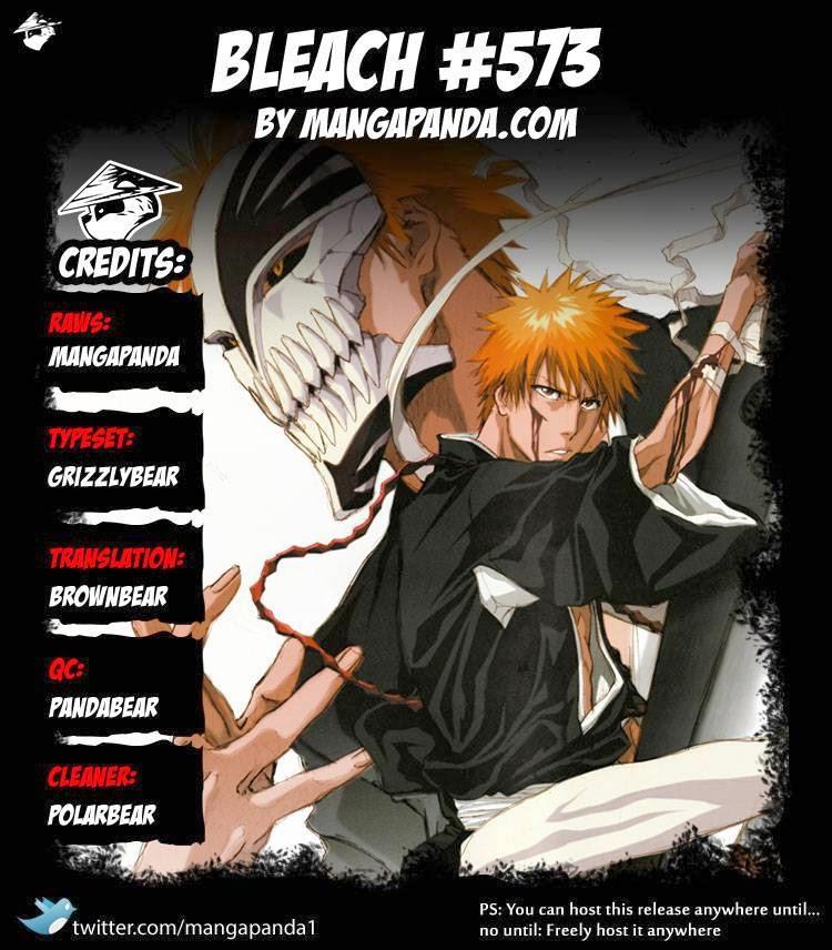 Bleach chapter 573 trang 19