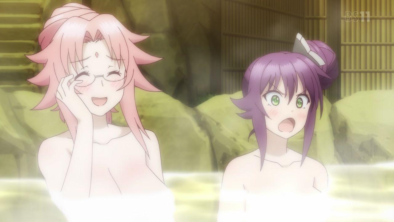 Yuragi-sou no Yuuna-san Episódio 9 - Cenas e gifs